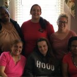 Residents of Clare of Assisi House, a transitional housing in Pennsylvania for non-violent women throughout PA.