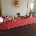 Crafts created by the ladies from Clare of Assisi House. They are on sale every year at the holiday brunch