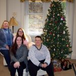 Christmas at clare of assisi house